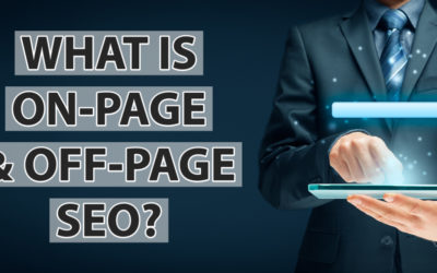 What is on-page and off-page SEO?